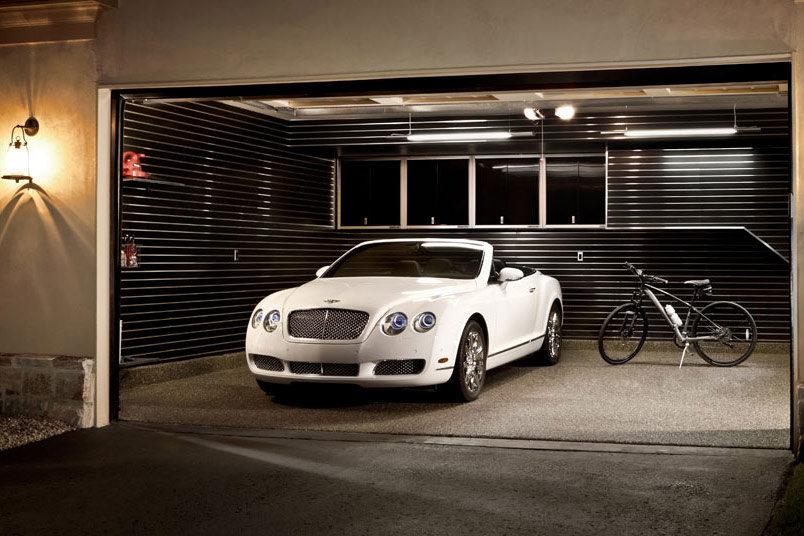 Private garage and gym arikgreendesign